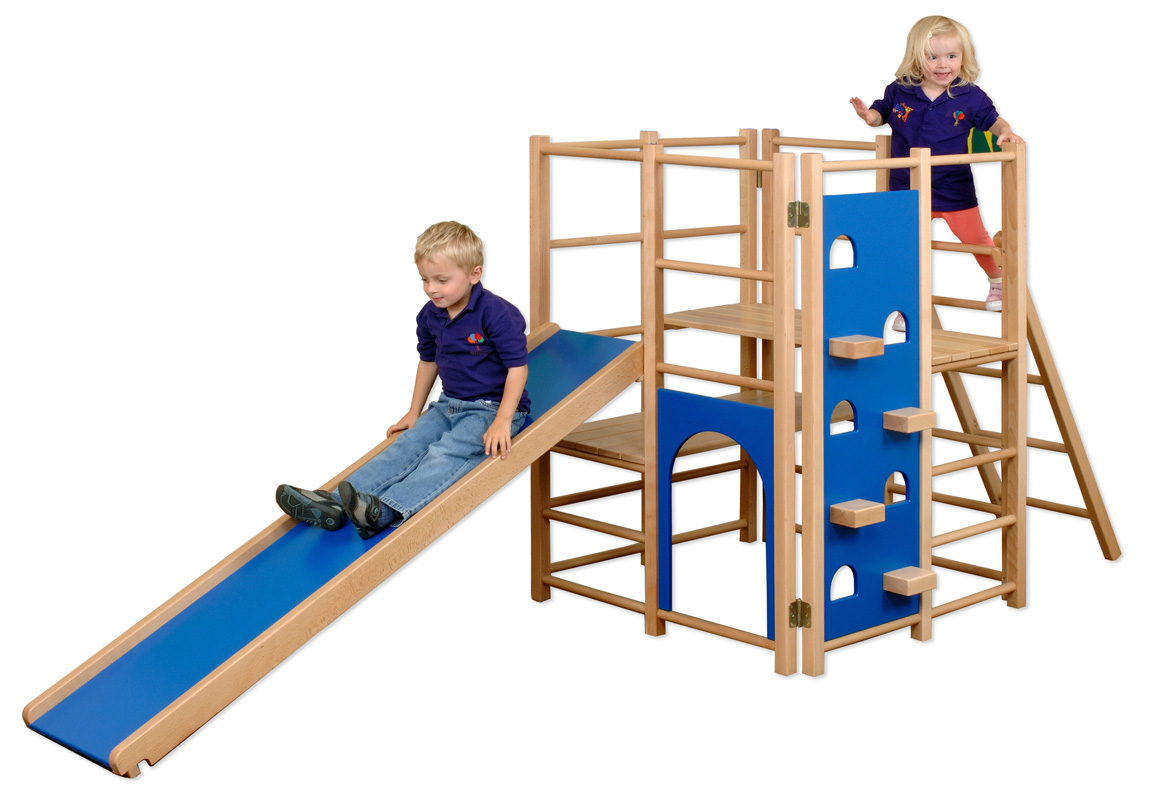 e4e junior hardwood climbing frame. Black Bedroom Furniture Sets. Home Design Ideas