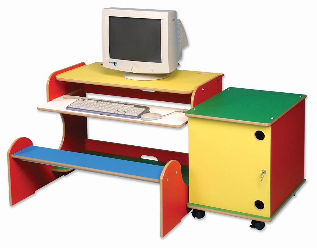 E4e Computer Workstation Bench