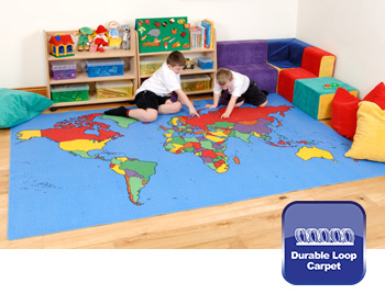 E4e geography cultural school nursery carpets mats gigantic world map rug gumiabroncs Image collections