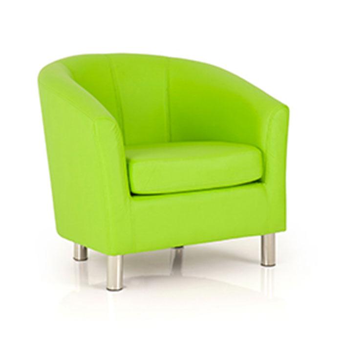 e4e - Adult Designer Tub Chair - Lime Green