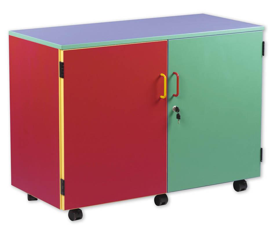 Superbe Multicolour Lockable Storage Unit