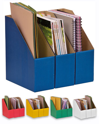 A4 Library Boxes (10 pack)