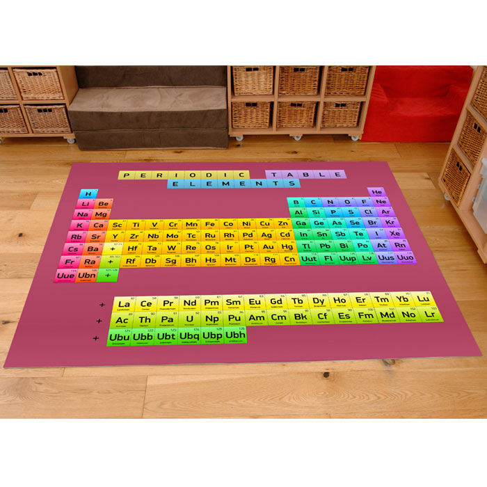 e4e - Periodic Table Of Elements Playmat - 2m x 1 5m