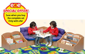 Classic Reading Corner (Beech Finish)   Special Offer
