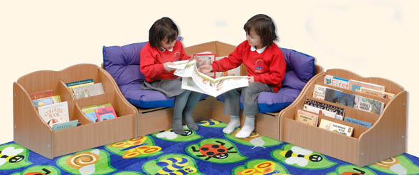 Reading Corner Furniture educational furniture | classic reading corner range nursery and