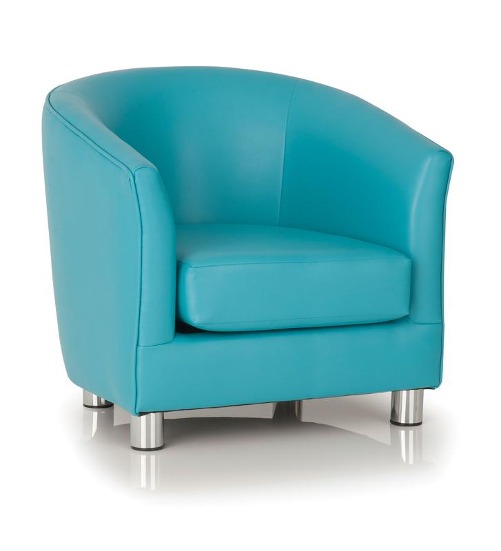 e4e - Kiddietubbies Tub Chair - Aqua