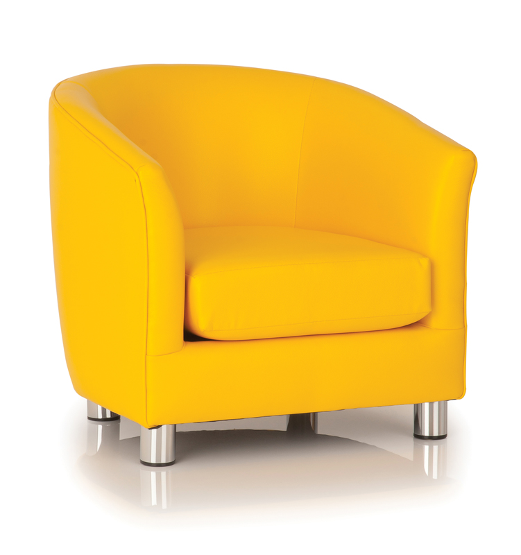 E4e Kiddietubbies Tub Chair Yellow