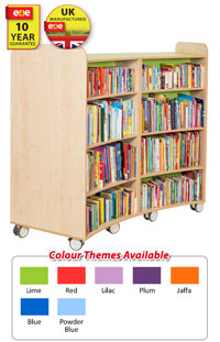 Groovy Mobile Bookcases Interior Design Ideas Tzicisoteloinfo