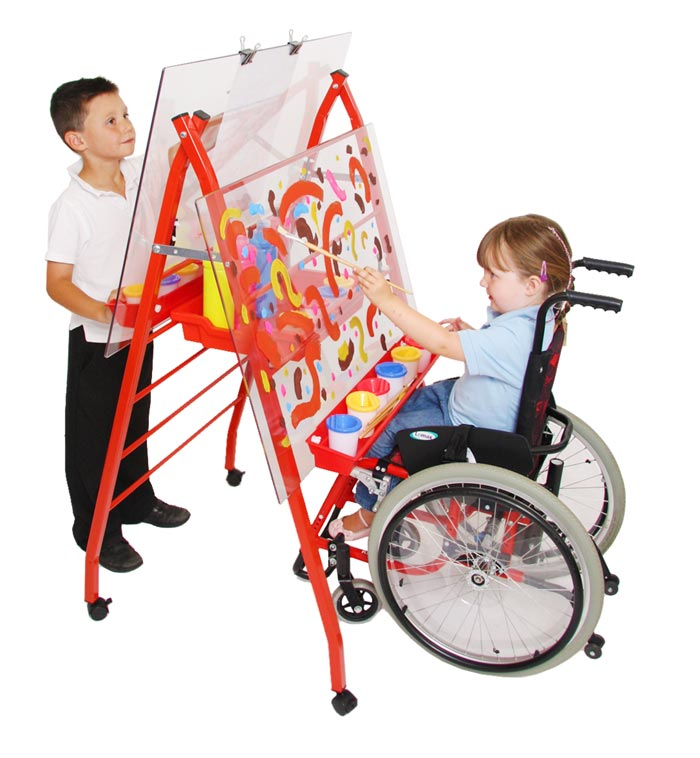 E4e Specially Adapted Height Adjustable Double Sided