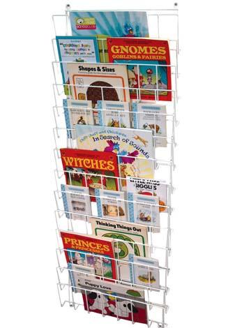 E4e Sturdy Wire Book Storage Perfect For Any Classroom